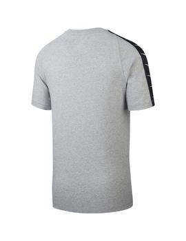 Camiseta  Nike Sportswear Swoosh Dk Grey Heather/W