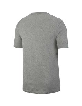 Camiseta  Nike Air Dk Grey Heather/Black Hombre