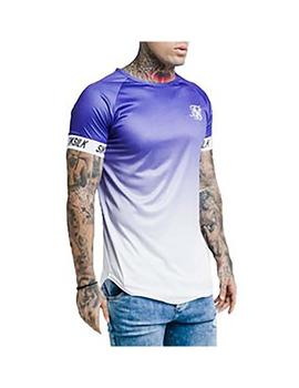 Camiseta SikSilk S/S Raglan Face Tech Pu
