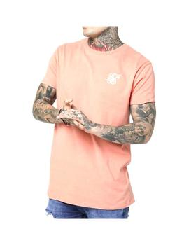 Camiseta Siksilk Peached Box Tee Peach Hombre