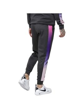 Pantalon chandal Siksilk Poly Cuffed Cropped Fade