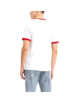 Camiseta Levis Ss Ringer Tee  Brand Integrated