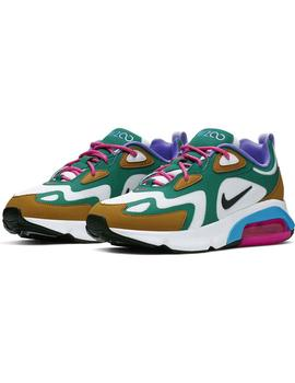 Zapatillas  Nike Air Max 200 Mystic BlancoVerde Mujer