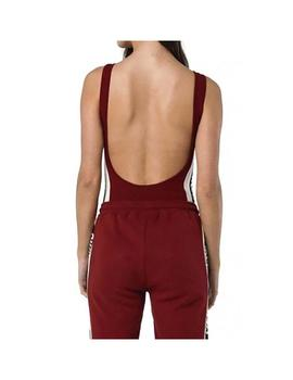 Body SikSilk Backless Body Suit Granate  Mujer