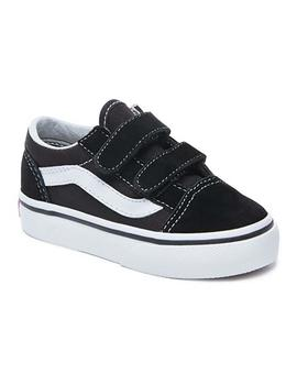 Zapatillas Vans Old Skool V Negro Niño/a