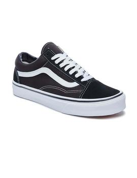 Zapatillas Vans Old Skool Negro Niño/a