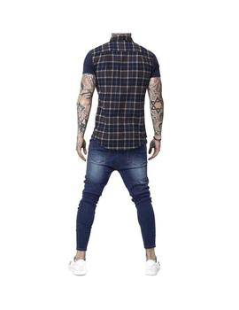 Pantalon SikSilk Drop Crotch Patch Denims