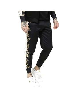 Pantalon SikSilk Black Edition Poly Negro Hombre
