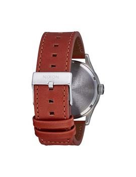Reloj Nixon Sentry Leather Marron/Blanco