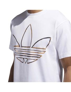 Camiseta Adidas Watercolor Tee Blanco Hombre