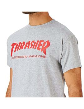 Camiseta Thrasher SkateMag Grey