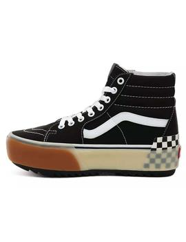 Vans Sk8-Hi Stacked Black Check