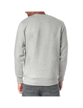 Sudadera Carhartt WIP Script Embroidery Sweat Gris Hombre