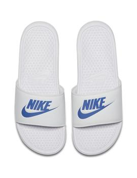 CHANCLAS NIKE BENASSI JUST DO IT BLANCO HOMBRE