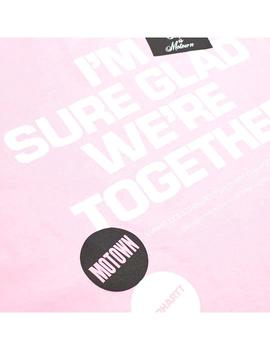 Camiseta Carhartt WIP S/S Motown Together T-Shirt Rosa Hombr