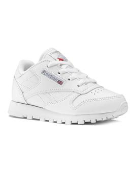 Zapatillas Reebok Classic Leather White Niño
