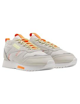 Zapatillas Reebok Cl Leather Ripple T Stucco/Lemgl