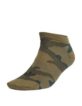 Calcetines Adidas Camo Liner 2Pp Negro/Carace Uni