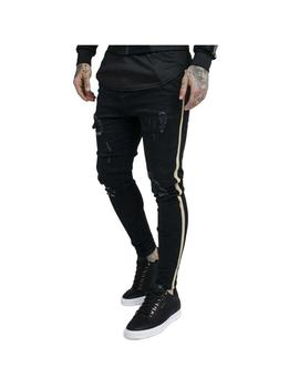 fa362d8465fd XS S M L. Pantalón Sik Silk Distressed Gold Tape Bl. 48.97€ 69.95€. -30%  Thumb 014161 1 Pantalón SikSilk Tech Athlete Track Granate Hombre