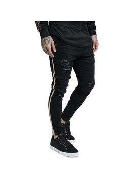 Pantalón SikSilk Distressed Gold Tape Bl