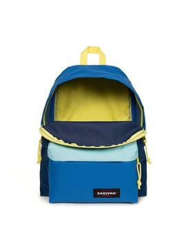 Mochila Eastpak Padded Pak'R Blocked Navy