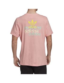 Camiseta Adidas Front Back Tee Rosglo Hombre