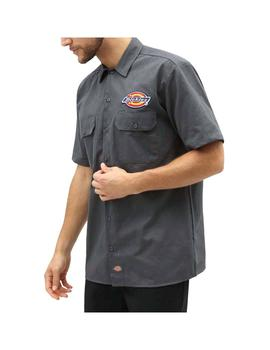 Camisa Dickies Clintondale Charcoal Gris Hombre