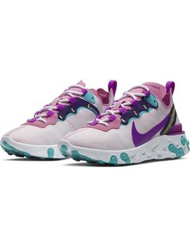 Zapatillas Nike Nike React Element 55 Magic Flamin Mujer