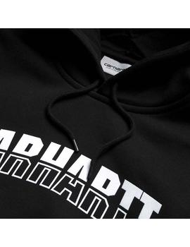 Sudadera Carhartt WIP Hooded District Sweat Negro Hombre