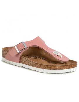 Sandalias Birkenstcok Gizeh Patent Old Rose Mujer