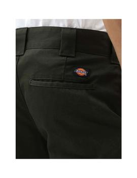 Pantalon Dickies Slim Fit Work Verde Hombre