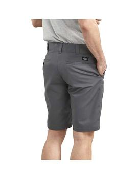 Bermuda Dickies Slim Fit Work Gris Hombre