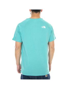 Camiseta The North Face Rag Red Box Lagoon Hombre