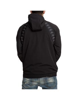 Sudadera Kappa Bakit Black/White Antique
