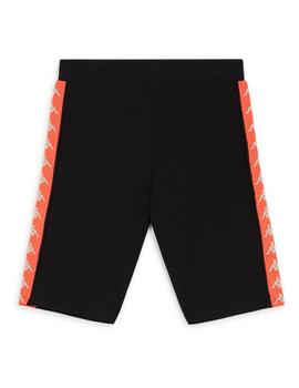 Ciclista Kappa Dicles (Cicles) Black/Orange Fluo/W