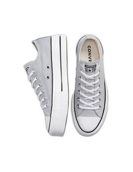 Zapatillas Converse Ctas Lift Ox Wolf Grey/White Mujer