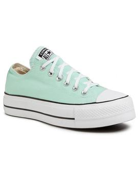 Zapatillas Converse Ctas Lift Ox Ocean Mint/White Mujer