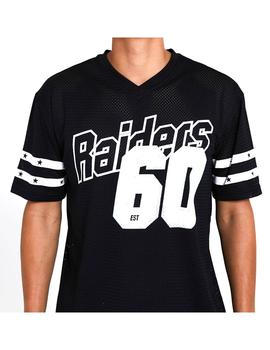 Camiseta New Era Nfl Stripe Raiders Blk Hombre