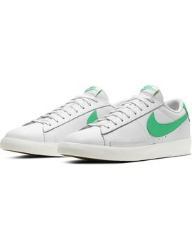 Zapatillas Nike Blazer Low Leather White/Green Hombre