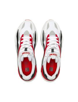 Zapatillas Puma Rs-X Puzzle White-High Risk Red Hombre