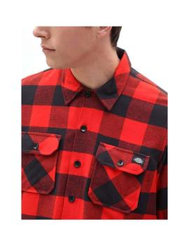 Camisa Dickies Sacramento Relaxed Red Hombre