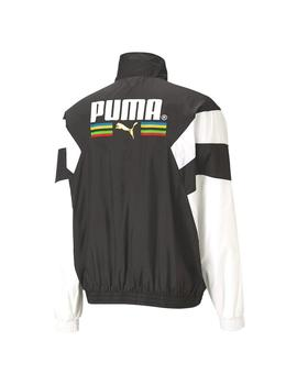 Chaqueta Puma Tfs Worldhood Track Top Wv Black Hombre