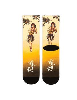 Calcetines Pacific - Co Hula Girl (Yellow)