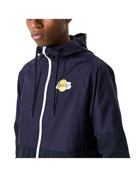 Chaqueta New Era NBA Check Ripsto Los Angeles Lake
