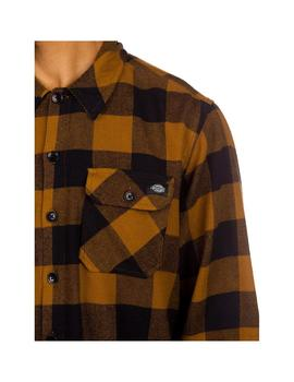 Camisa  Dickies Sacramento Relaxed Brown Duck Hombre