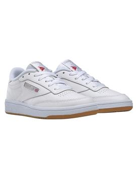 Zapatillas Reebok Club C 85 White/Light Grey/Gum M