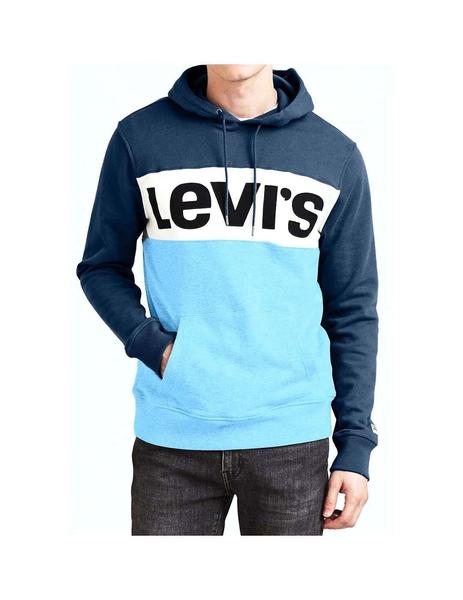 Sudadera Levis Colorblock Dress Blue Hombre