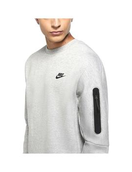 Sudadera  Nike Sportswear Tech Fleece Grey/Black Hombre