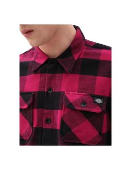 Camisas Dickies Sacramento Relaxed Pink Berry Homb