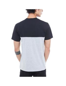 Camiseta Vans Colorblock Tee Black/Athletic Heather Hombre